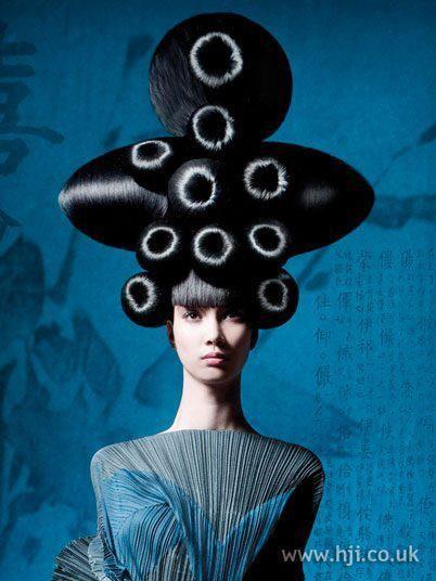 geisha hair art