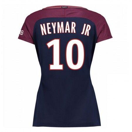 PSG Neymar Jr 10 Hjemmebanetrøje Dame 17-18 Kort ærmer #Billige  #Fodboldtrøjer
