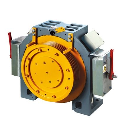 Gearless Traction Motor for MR and MRL Elevator