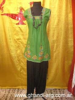 Mama esta es una blusa Hindu genial