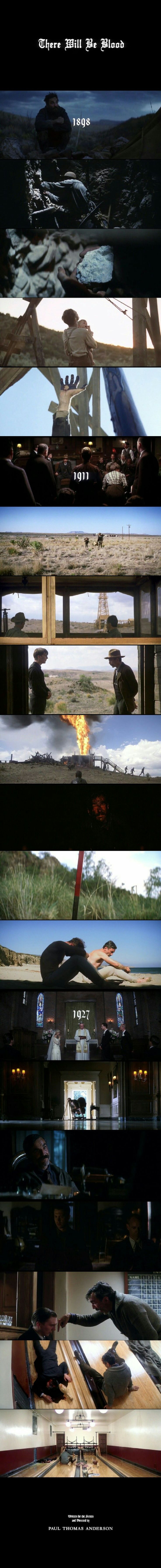 There Will Be Blood (2007) Directed by Paul Thomas Anderson. Cinematography by Robert Elswit.