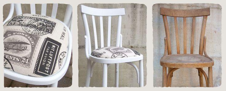 Le vecchie sedie di legno sono le mie preferite!! Appena finita una  penso già a…