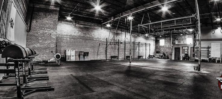 Gym Interior - B&W