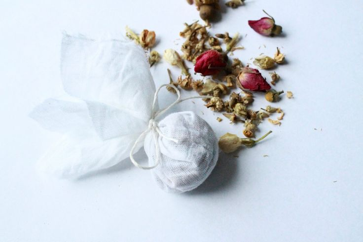 DIY Tea Bags on www.chenaemaree.com!
