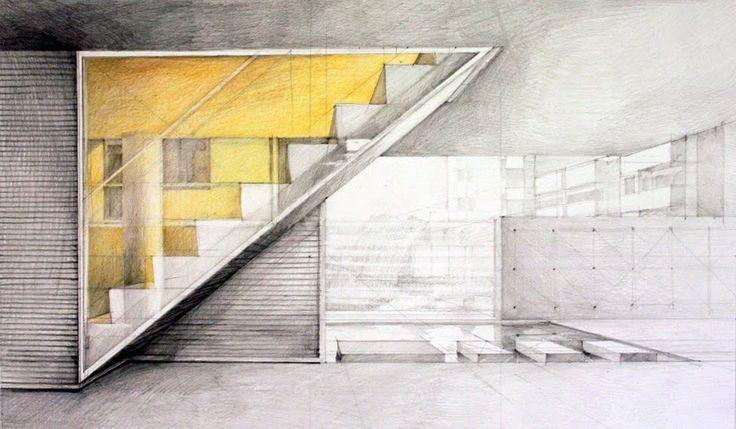 Klara Ostaniewicz - rysunki: rysunki architektury