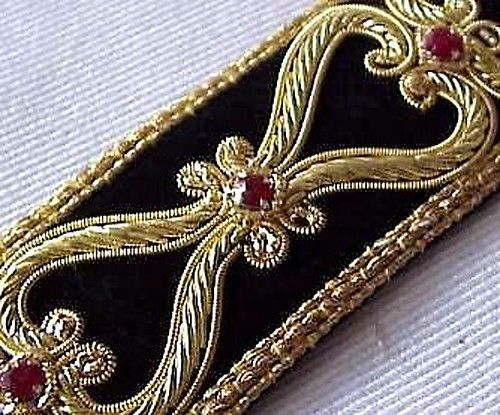 Our Finest Hand-Beaded Trim. Renaissance Style in Crafts, Sewing & Fabric, Sewing | eBay
