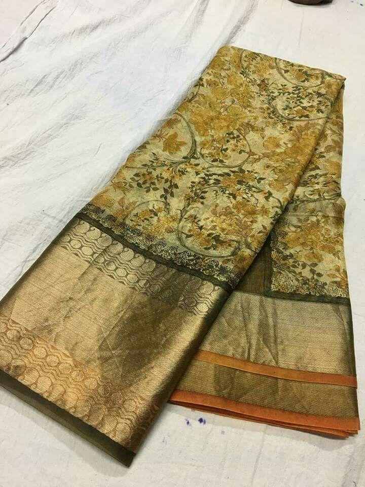 922431091c Pure organza digital print sarees Price:5500 Order what's app 7995736811