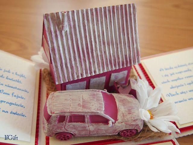 wedding box with a car (3/3)