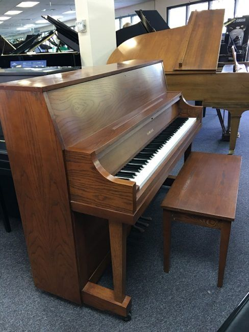 See our updated list of used pianos on our website. Including this beautiful Dark Oak Yamaha P22 http://www.pianosplus.com/used-pianos-for-sale/ #bayareapianos