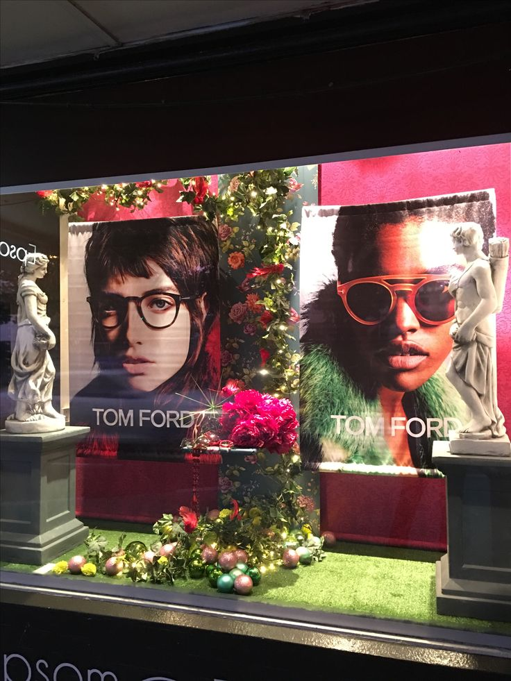 """EPSOM EYECARE, Auckland, New Zealand, """"Colour me Curious"""", for Tom Ford Eyewear, created by Ton van der Veer"""
