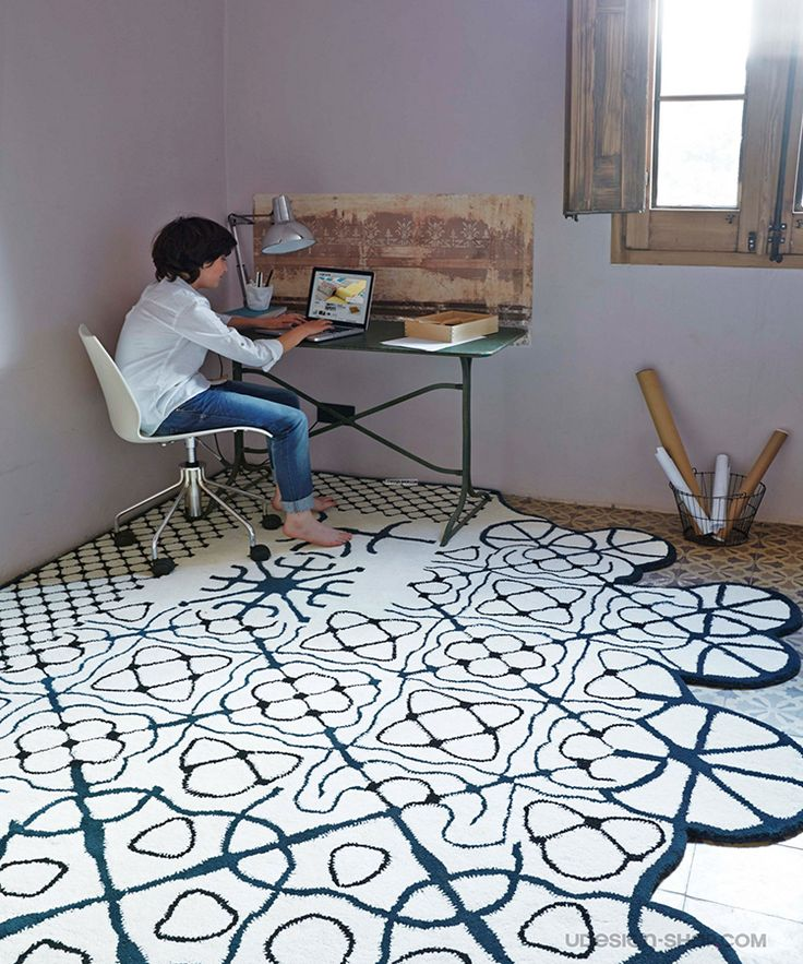 new Dauvine rug by GAN Studio arrived at oikos http://www.oikos.gr/english/dauvine-rug.html