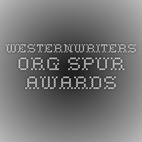 westernwriters.org  Spur Awards