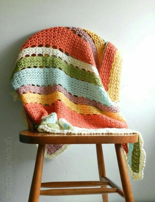 Mejores 160 imágenes de Croché en Pinterest | Mantas de ganchillo ...