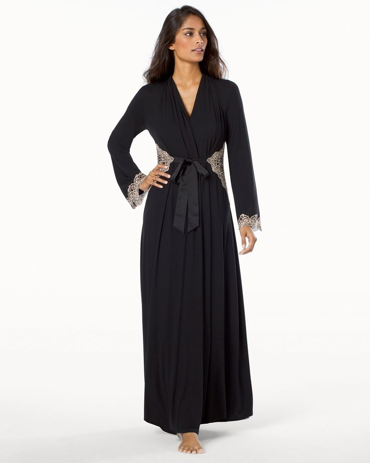 Soma Limited Edition Sensuous Scroll Long Robe