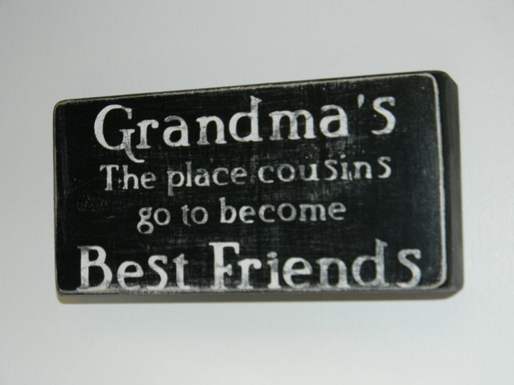 This is so true! Grandma's Cousins Box Quotes by katemueninghoff on Etsy