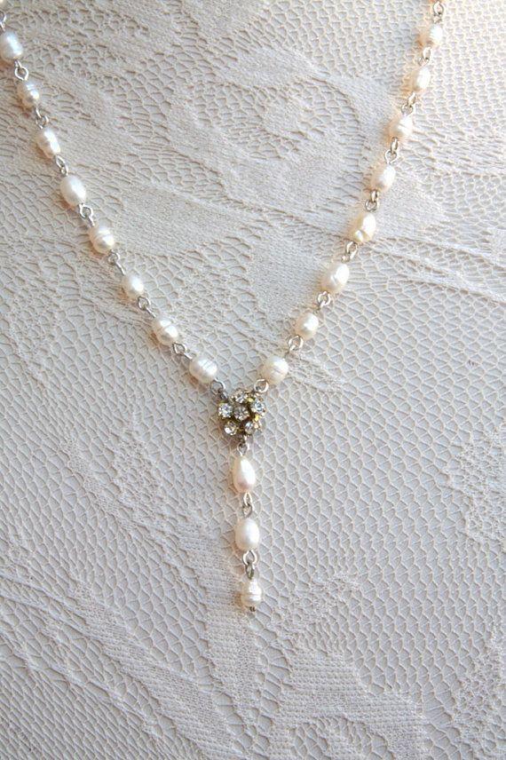 Bridal Wedding Jewelry Vintage Beaded by mylittlebride on Etsy