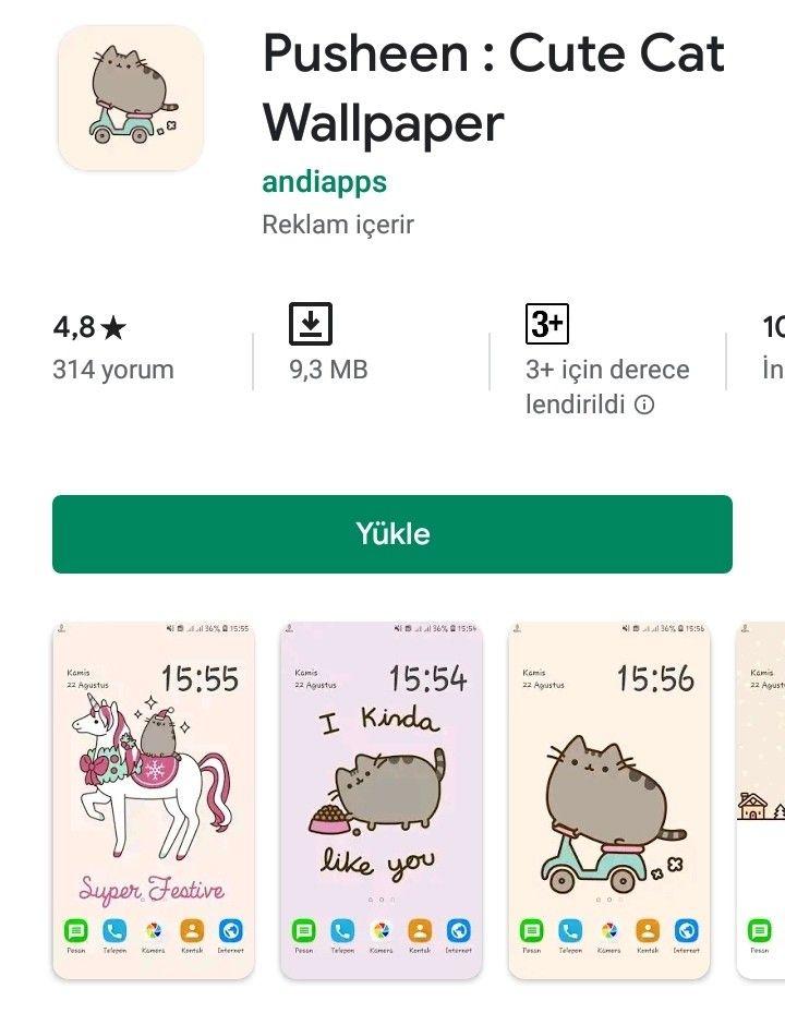 Pin By Panda On Youtube Ve Play Market In 2020 Cute Cat Wallpaper Cat Wallpaper Cute Cat