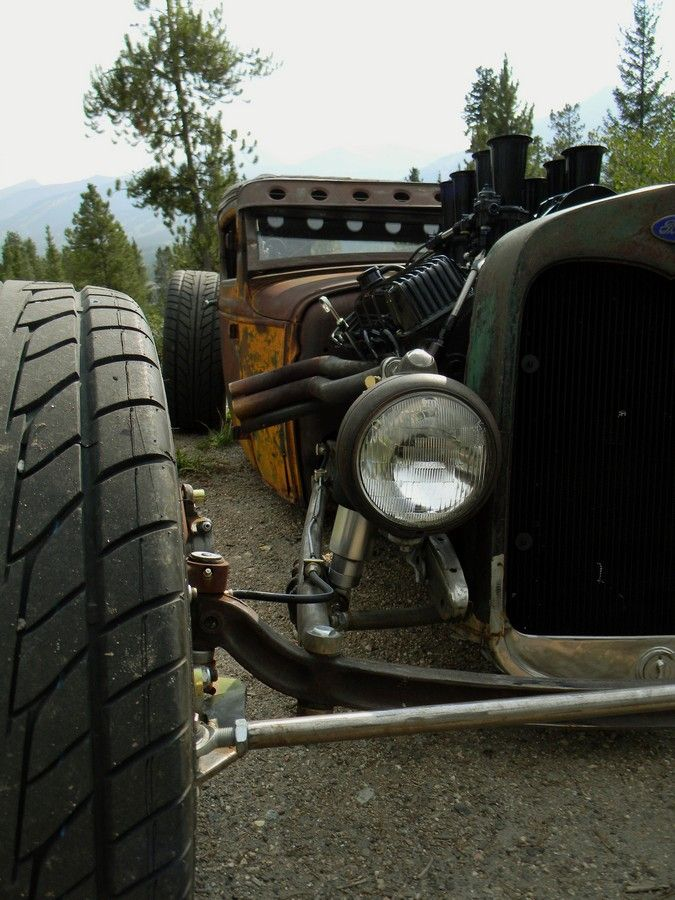 Mike Partyka's One-of-a-Kind #RatRod - All I can say is WOW.