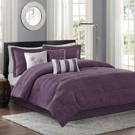 Hannah Comforter Set in Plum  at Joss and Main
