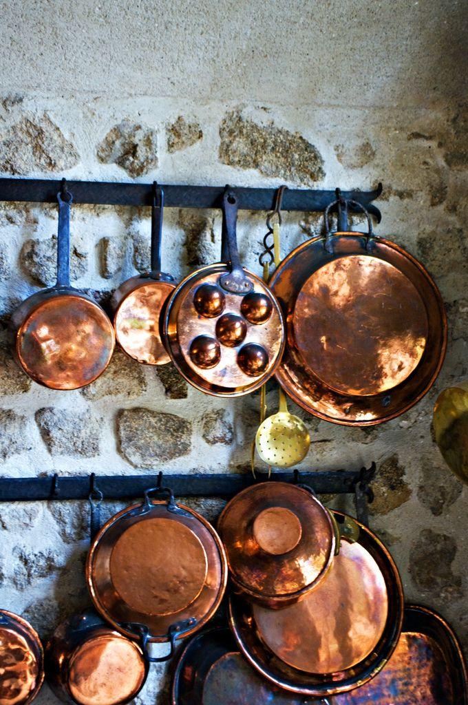Copper and stone are beautiful. Elemental design.