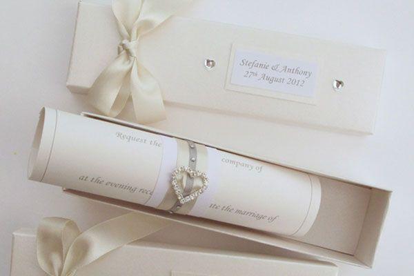 Acessórios para convites de casamento