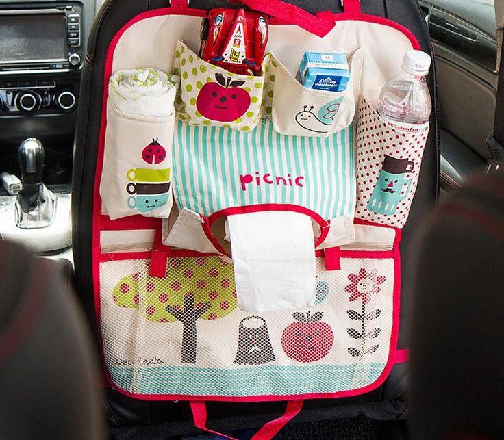 Cute Convenient Portable Car Accessory Organizer 2 Colors