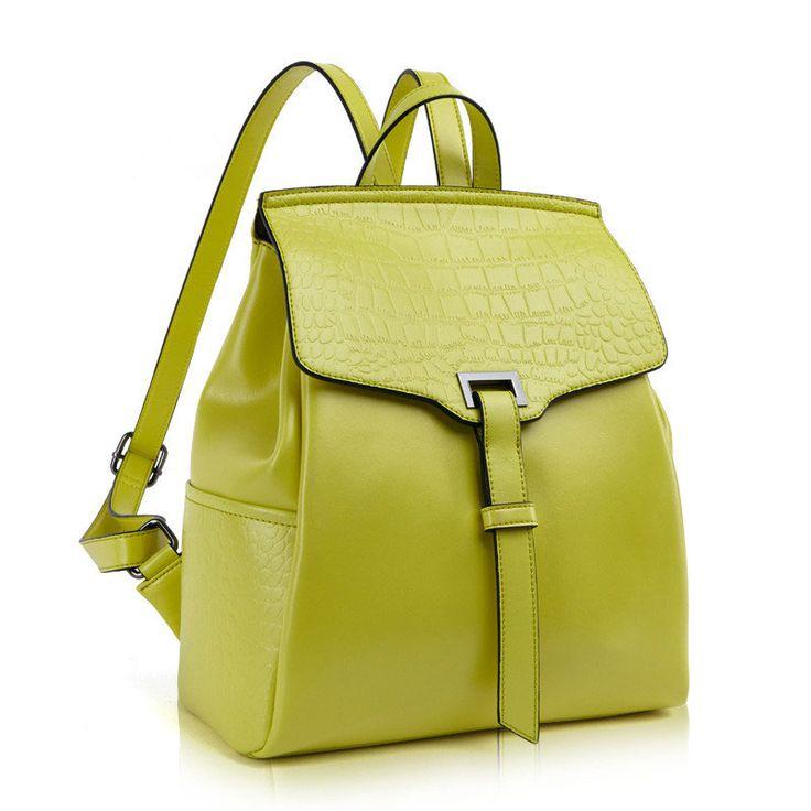 2015 mochilas de cuero de cocodrilo bolso de viaje de mujeres [SD91020] - €60.85 : bzbolsos.com, comprar bolsos online