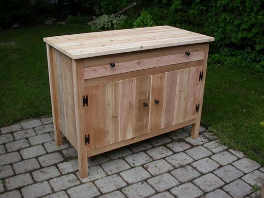Wooden Outdoor Cabinet For Patio | Outdoor Cabinets Amazing Ideas