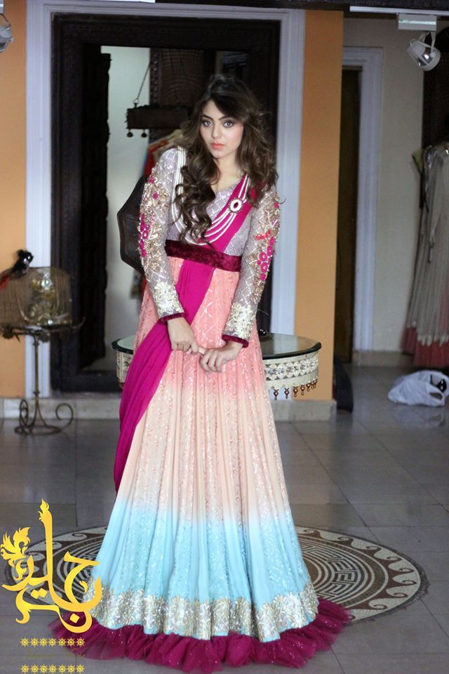 Latest Party Wear Frocks Gowns Collection 2017 2016 Stylesgap