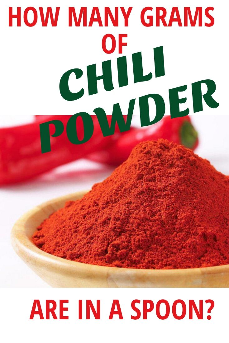Learn how you can get necessary amount of chili powder using