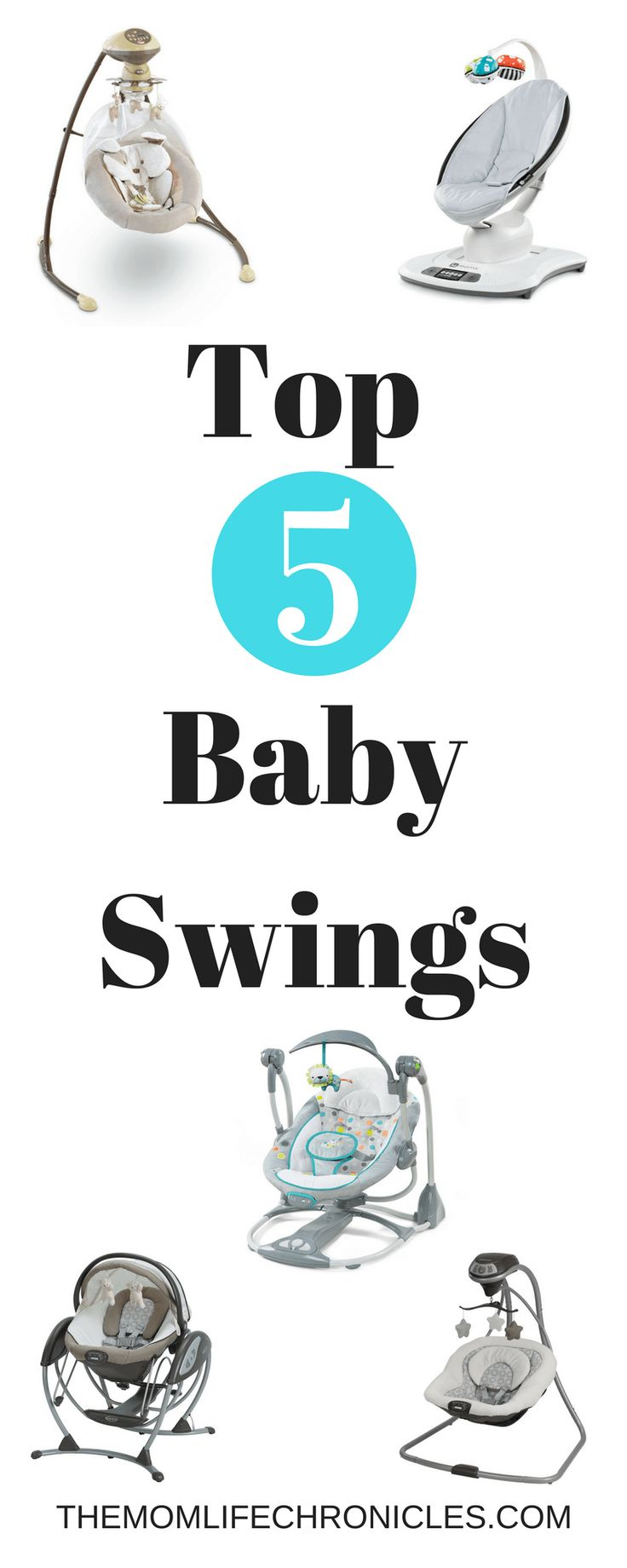 Best Baby Swings: Top 5 Baby Swings in 2017 | Baby| Baby Gear| Baby Equipment| Baby Swings|