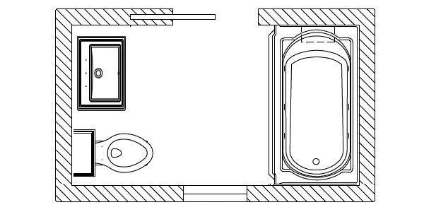 1000+ Ideas About Small Bathroom Floor Plans On Pinterest
