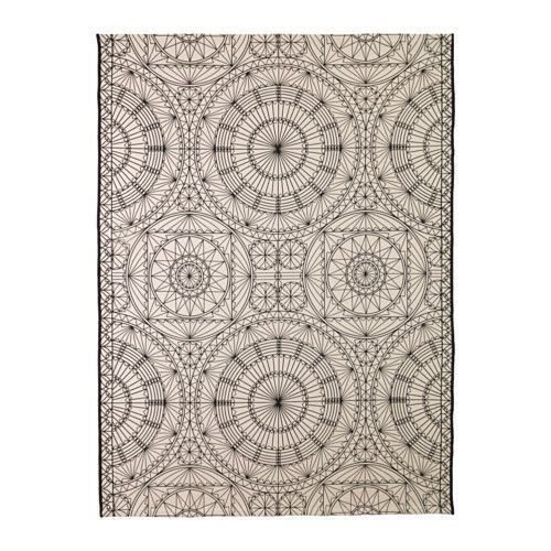 """IKEA - RYSSBY 2014, Rug, flatwoven, 6'3""""x4'7"""" - 100% cotton, $70 (NOTE: use under dining table?)"""