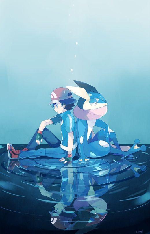 Ash & Greninja