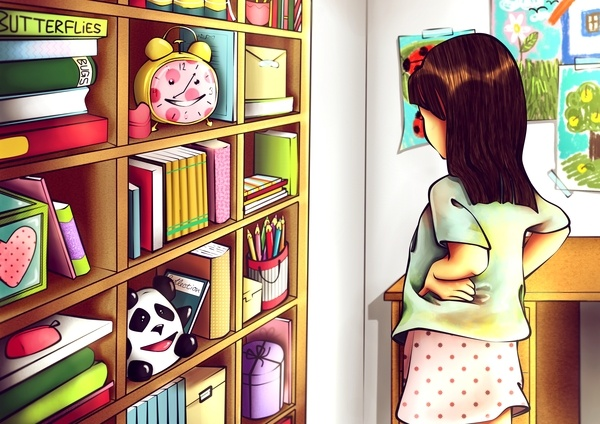 The Adventures of Thomas and Maggie by Ana Varela, via Behance
