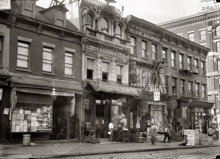 Lived Before His Attempted Assassination Of U President Teddy Roosevelt In It Was At 156 Canal Street Near The Corner Elizabeth New York