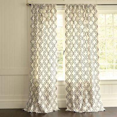 Firenze Embroidered Panels: Dining Rooms, Living Rooms, Curtains Panels, Master Bedrooms, Window Treatments, Embroidered Panels, Diy Curtains, Bedrooms Curtains, Ballard Design