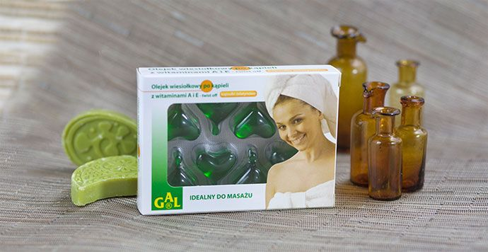 OLEJEK WIESIOŁKOWY PO KĄPIELI Z WITAMINAMI A i E // Olejek wiesiołkowy po kąpieli przeznaczony jest do dermatologicznej pielęgnacji skóry. Głównymi jego składnikami są: olej lniany, olej wiesiołkowy oraz witaminy A i E. Zawarty w preparacie olej lniany jest bogatym źródłem kwasów Omega-3, odżywia skórę i nadaje jej elastyczność. Łatwo się wchłania. Idealny do masażu. http://www.gal.com.pl/produkty/kosmetyki/olejek-wiesiolkowy-po-kapieli-z-witaminami-a-i-e.html