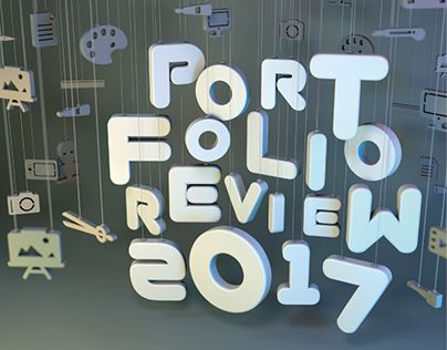 """Check out new work on my @Behance portfolio: """"Portfolio Review 2017   Poster"""" http://be.net/gallery/59985669/Portfolio-Review-2017-Poster"""