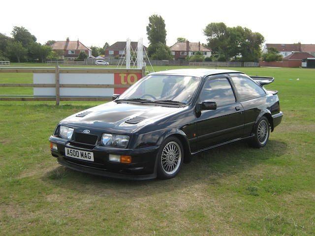 1987 Ford Sierra RS500 Cosworth Hatchback Chassis no. WFOEXXGBBEFF38925 Engine no. GG38925