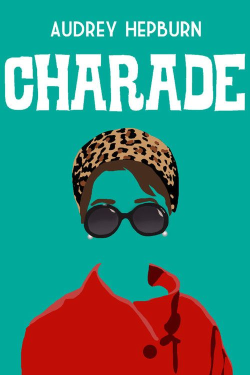 """Charade"" movie poster, 1963. One of my all time favorites!!"