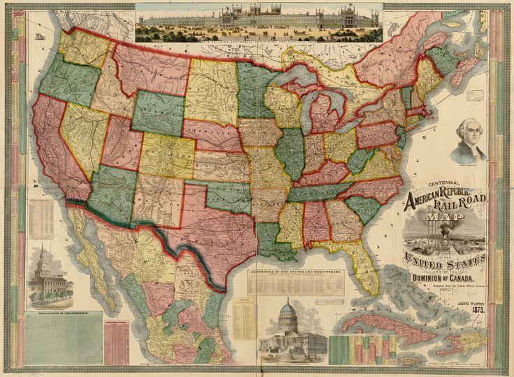 Best Mapspurposes Images On Pinterest Historical Maps - Vintage us map