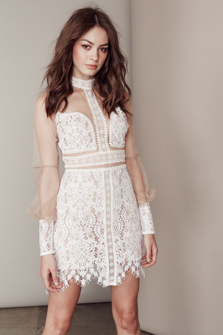 J jill white dress by the shore