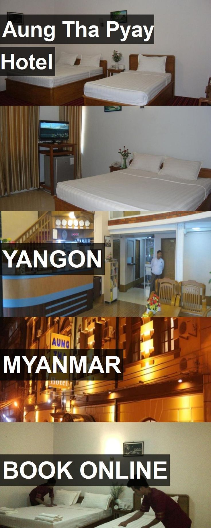 Hotel Aung Tha Pyay Hotel in Yangon, Myanmar. For more information, photos, reviews and best prices please follow the link. #Myanmar #Yangon #AungThaPyayHotel #hotel #travel #vacation