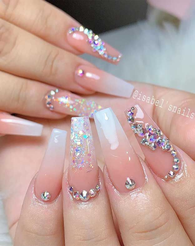 32 Pretty And Eye Catching Nail Art Designs Wedding Nails Design