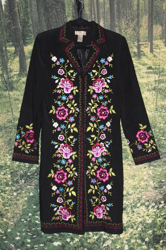Hey, I found this really awesome Etsy listing at https://www.etsy.com/listing/236661000/70s-embroidered-coat