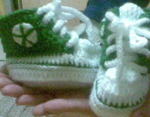 zelené tenisky