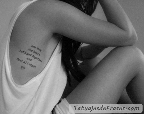 tatuajes en las costillas mujeres tumblr - Buscar con Google
