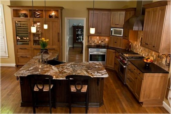 2 Tier L Shaped Kitchen Island 4x8 Kitchen Island Ideas Kitchenislandideas Small Kitchen Layouts Best Kitchen Designs L Shaped Kitchen Designs