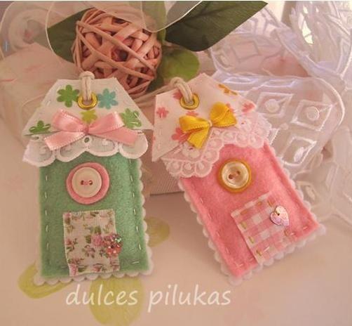 Sweet house tags